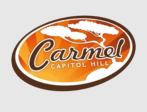 Logo Designed by P2 Graphic Design for Carmel Capitol Hill