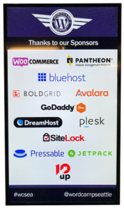 WordCamp Seattle 2017, Sponsors