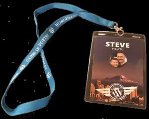 WordCamp Seattle 2017, Namebadge
